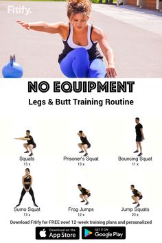 Workout plans, vital home exercises examples to look fitted. Look up that fitness routine pin-image reference 1099546440 here. Leg Butt Workout, Cardio Workout At Home, Gym Workouts, At Home Workouts, Fitness Exercises, Workout Diet, Workout Plans, Health And Fitness Tips, Workout Exercises