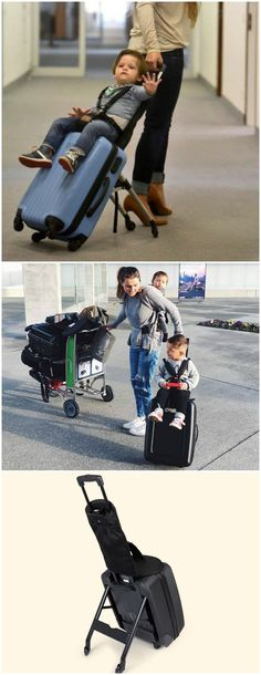 The Mountain Buggy Bag Rider is a problem solver for families who are travelling and struggle having to take a buggy and carry on luggage.