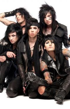 "Read ""100 Black Veil Brides Facts - Andy Biersack"" #wattpad #random"