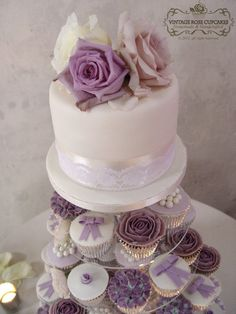Simple, beautiful, less expensive way to have cake