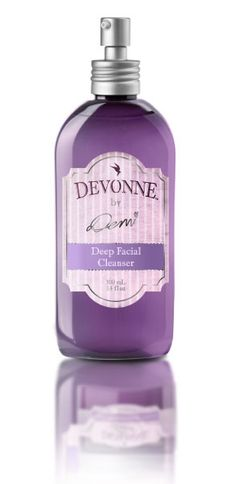 DEVONNE® By Demi   Skin Care Products   Deep Facial Cleanser