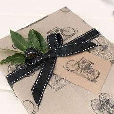 Kraft wrapping paper sets