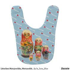 Lätzchen Matrjoschka, Matryoshka, Babuschka,