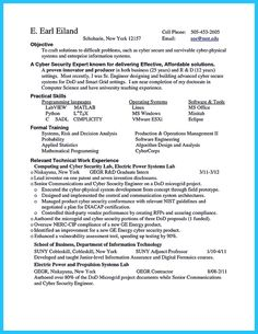 cool Powerful Cyber Security Resume to Get Hired Right Away,