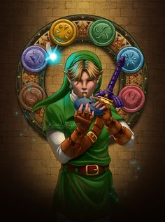 Musician of Time -- Link by *KrisCynical on deviantART
