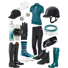 Sporty Schooling by eq20 on Polyvore featuring NIKE, VERONA, Ariat, Hunter, Rolex, Pandora, Roberto Coin, Blue Nile, women's clothing and women's fashion