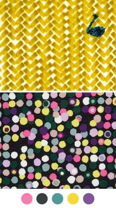 CTMH Colors = Cotton Candy, Black, Twilight, Honey, Gypsy