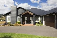 Image result for black weatherboard houses