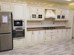 Trending Ideas of Neutral Schemes in Dream Kitchens - newkitchenmodels Pastel Kitchen Decor, Country Kitchen Designs, Country Kitchens, Green Kitchen, Modern Country, Kitchen Cabinets, Rustic, Interior Design, Room