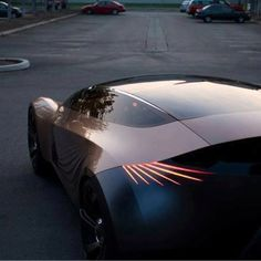 Nice riff on the Art Deco look that's current. Mazda Nagare Concept tail light
