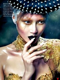 Gothic Elegance by Hyea W. Kang for Vogue Korea October 2012
