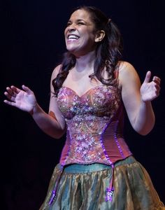 Oh, bless the Lord, my soul. Lindsay Mendez in the 2011 Broadway revival of Godspell. She's the best.