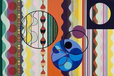 "Açúcar (Sugar) by Beatriz Milhazes; 2009; woodblock and screen print; 31.5 x 47.25"" (edition of 40) | James Cohan Gallery"