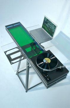 every studio needs a futuristic dj setup