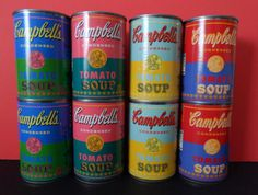 Campbell's Soup Limited edition Andy Warhol cans : NEEEEEDSSSS