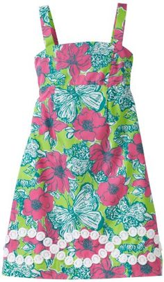 "I have loved Lilly Pulitzer since middle school...always loved trying to find ""lilly"" in the print..."