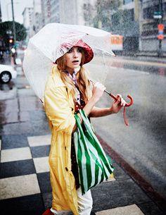 SCARF CREATIVE: Fashion Story: Summer Rain