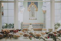 Mesa de dulces de Ofelia Bakery en boda en Villa Luisa