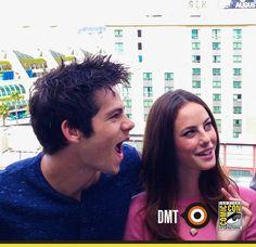 Kaya Scodelario & Dylan O'Brien @ Comic-Con San Diego (July, 24 2014)