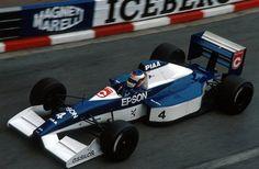 Jean Alesi (Tyrrell-Ford V8, 019)