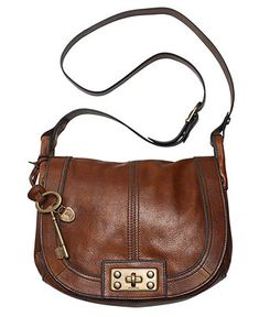 Fossil Handbag, Vintage Reissue Flap Crossbody Bag - <3