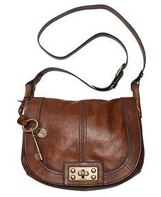Fossil Handbag, Vintage Reissue Flap Crossbody Bag - <3