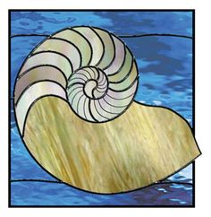 Free Nautilus Shell Pattern from Delphi Glass