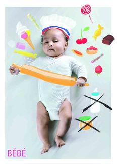 Envoyez-nous la photo de Bébé, on lui invente un petit univers, coloré et ludique !