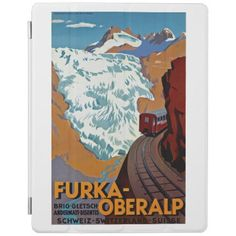 #Furka-Oberalp Alpine Railway iPad Smart Cover - #travel #electronics