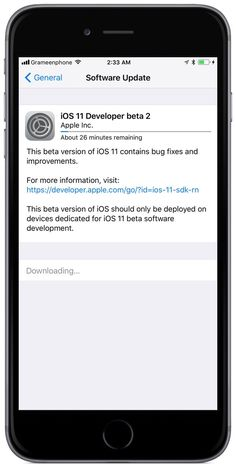 Apple today released the iOS 11 Beta 2 for iPhone/iPad/iPod. It now available to Apple registered developers and members of the Apple Developer Program. To download and install the update, use the Software Update mechanism