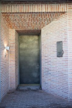 Bird House (Wynand Wilsenach Architects)- With Lanes Ceramic klompie bricks Entrance, Brick, Modern Farmhouse, Garden In The Woods, Outdoor Decor, House, Tile Bathroom, Modern, Bird House