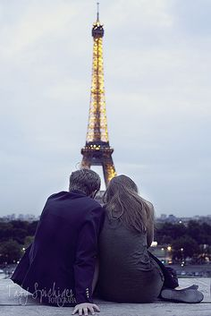 pareja en Paris