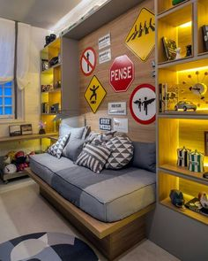 ▷ Ideas for teenage boy room + interiors that are topical
