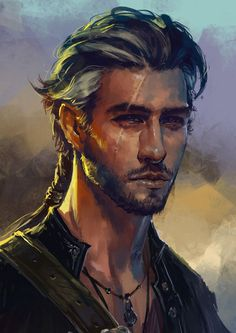 m Rogue Thief or Bard Aelric - human fighter/rogue portrait Having grown up on a ship he has since turn to a like of adventure and fortune. Fantasy Male, Fantasy Rpg, Medieval Fantasy, Anime Fantasy, Character Concept, Character Art, Concept Art, Fantasy Portraits, Character Portraits