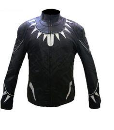 Arrow Black Panther Captain America Civil War Leather Jacket – jny