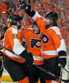 Jaromir Jagr #68, Danny Briere #48, and Scott Hartnell #19 I <3 these boys!
