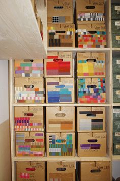 organising colours ... clever