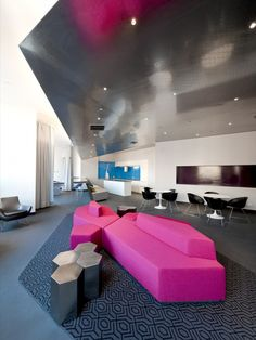 Image 2 of 8 from gallery of 80 Dekalb / Della Valle + Bernheimer. Photograph by Della Valle + Bernheimer Indoor Pools, Corporate Interiors, Office Interiors, Commercial Design, Commercial Interiors, Office Interior Design, Interior Decorating, Banks Office, Halls