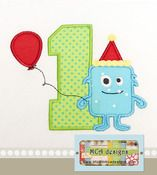 Monster Birthday- Just the #1