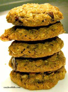 Nutrient dense 5 grain cookies you can eat for breakfast! please follow me @ http://www.pinterest.com/jeniferkane01/