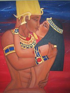 isis and osiris | Isis and Osiris by Shanna Hamilton | ArtWanted.com