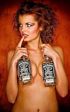 There was a time when this would have appealed to me; now I'd just tell her to drop the bottles. ;)