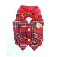 Lil' Teddy Dog Vest by Ruff Ruff Couture