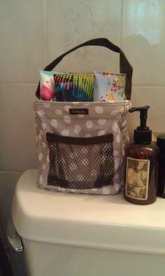 bathroom idea for littles carry all