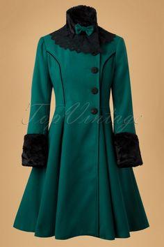 Bunny Angeline Coat Teal 152 30 13447 20140625 0005W