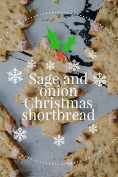 This savoury Christmas shortbread recipe with tangy cranberry and cheddar decoration makes the ultimate snack for parties at Christmas time. Christmas Nibbles, Christmas Canapes, Christmas Drinks, Christmas Ideas, Savory Scones, Cranberry Cheese, Great British Chefs, Mini Tart, Shortbread Recipes
