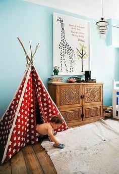 More playroom teepees..love them.