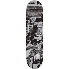 Anti-Hero Protest PP X-Large Skateboard Deck - Grey - 8.5in x 32.18in - http://shop.dailyskatetube.com/?post_type=product&p=2455 -     -