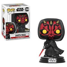 This Star Wars Darth Maul Hooded POP Vinyl Figure stands approximately 3 inches tall and comes packaged in a window display box as a Walgreens Star Wars Celebration exclusive! Star Wars Rebels, Simbolos Star Wars, Star Wars Meme, Star Wars Quotes, Funko Pop Star Wars, Star Wars Gifts, Star Wars Party, Darth Maul, Star Wars Collection
