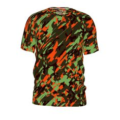#psychicarmyoctober by #chocolatepeyote #citrusreport #tshirt #alloverprint #army #camo #pattern #design #@The Citrus Report